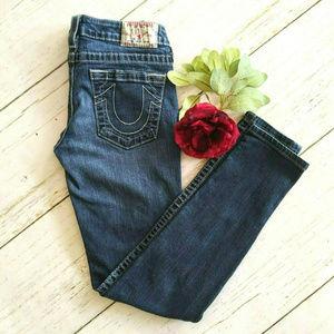 True Religion Stella Skinny Jeans 27x28 USA